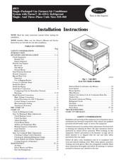 Carrier 48ES Manuals