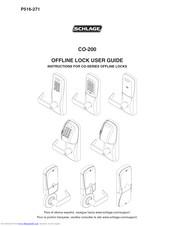 Schlage CO-200 Manuals