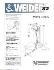 Weider powerguide x2 Manuals