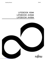 Fujitsu LIFEBOOK A544 Manuals