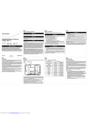Trane YHC048F Manuals