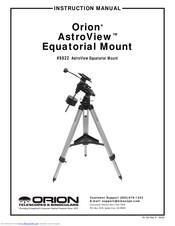 Orion Telescopes & Binoculars AstroView 9822 Manuals