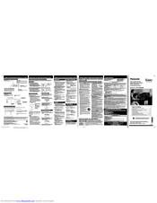 Panasonic PV-V4524S Manuals