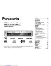 Panasonic NV-VP21 Manuals