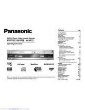 Panasonic NV-VP23 Manuals