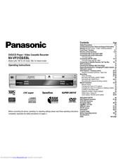 Panasonic NV-VP31EB Manuals