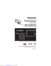 Panasonic LUMIX DMC-TZ7 Manuals