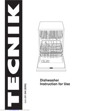 Tecnik Dishwasher Manuals