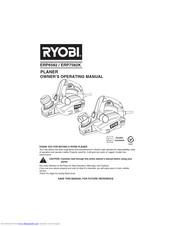 Ryobi ERP7582K Manuals