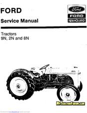 Ford 8n series Manuals