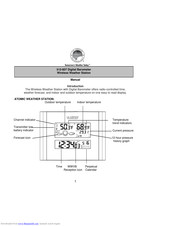 La Crosse Technology 512-807 Manuals