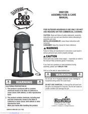 char broil patio caddie manuals