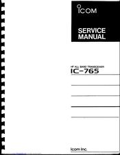 Icom IC-765 Manuals