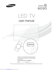 Samsung UN40FH6030 Manuals