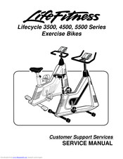 Life Fitness Lifecycle 4500 Series Manuals