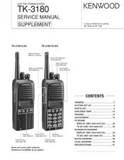 Kenwood TK-3180 Manuals