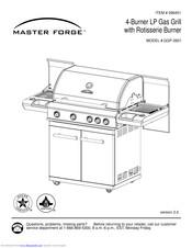 Master Forge GGP-2601 Manuals