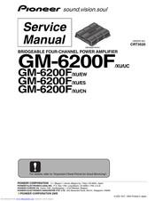 Pioneer GM-6200F Manuals