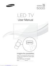 Samsung UN22D5000NF Manuals
