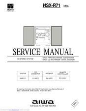 Aiwa NSX-R71 Manuals