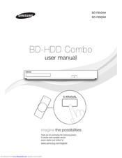 Samsung BD-F8900M Manuals