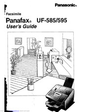 Panasonic Panafax UF-595 Manuals