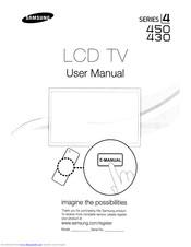 Samsung LN32D430G3D Manuals