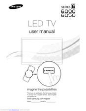 Samsung Smart TV UN40D6000 Manuals