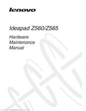 Lenovo IDEAPAD Z560 Manuals