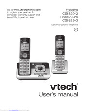 Vtech CS6829-26 Manuals
