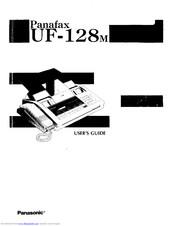 Panasonic Panafax UF-127M Manuals