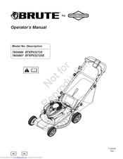 Brute 7800887 Manuals