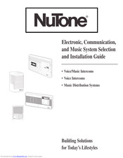 Nutone IM-4406 Series Manuals