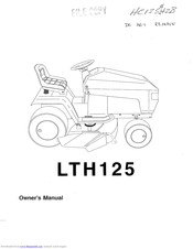 Husqvarna LTH125 Manuals