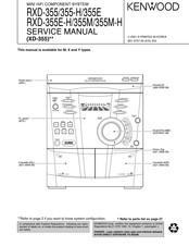 Kenwood RXD-355 Manuals