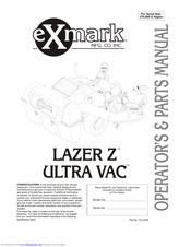 Exmark Ultra Vac Laser Z Manuals