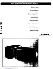 Bose 301 Series V Manuals