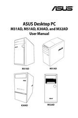 Asus M32AD Manuals
