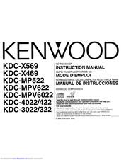 Kenwood KDC-MP522 Manuals