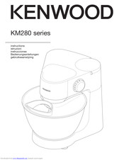 Kenwood KM280 series Manuals