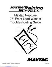 Maytag NEPTUNE WASHER Manuals