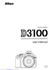 Nikon D3100 Manuals