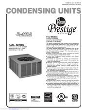 Rheem R-410A Manuals
