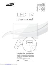 Samsung UN55D6400 Manuals