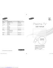 Samsung PS59D6900 Manuals