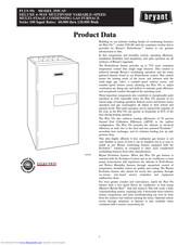 Bryant 355CAV Manuals