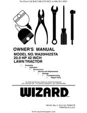 Wizard WA20H42STA Manuals