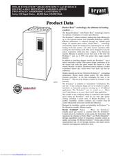 Bryant 355AAV EVOLUTION Manuals