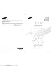 Samsung UN55D6050 Manuals