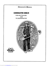 Whites Coinmaster 5000/D Manuals